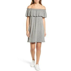 Current/Elliott Ruffle Off Shoulder Dress Size 1